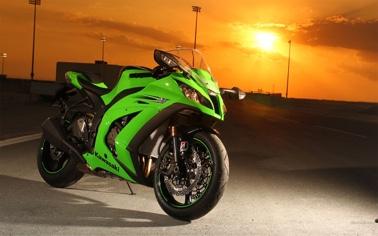 Kawasaki At Motorcycle Live 2015 photo 2